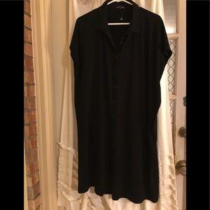 Eileen Fisher Jersey stretch dress XL